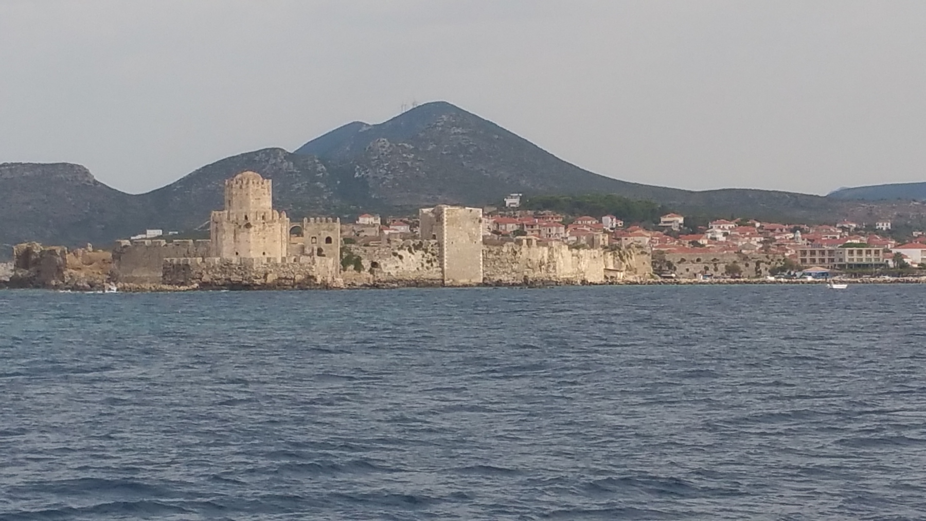 The fortress at Methoni