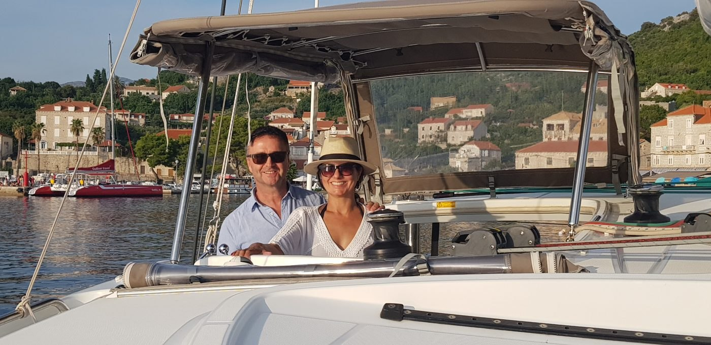 Marcia and Mark, Dubrovnik, Sept 2019