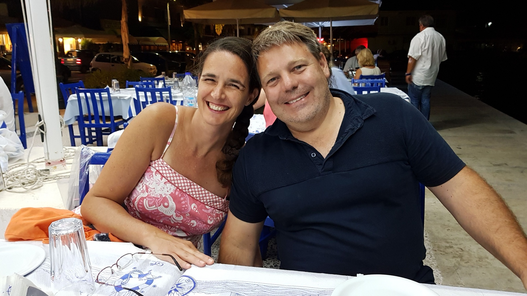 Adri and Mauro. September 2018.