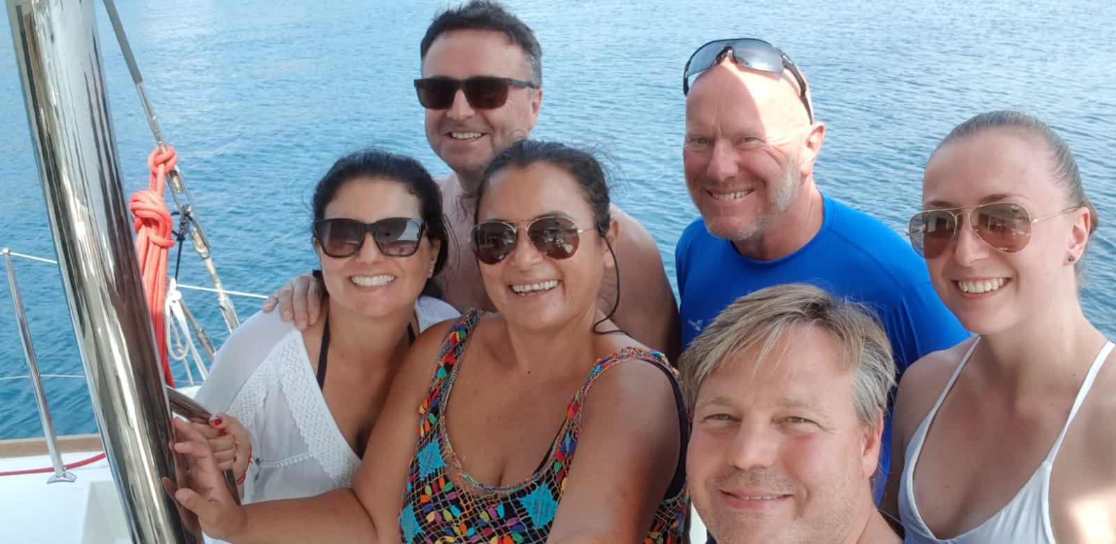 Alex, Mauro, Marcia and Mark, Dubrovnik, Sept 2019