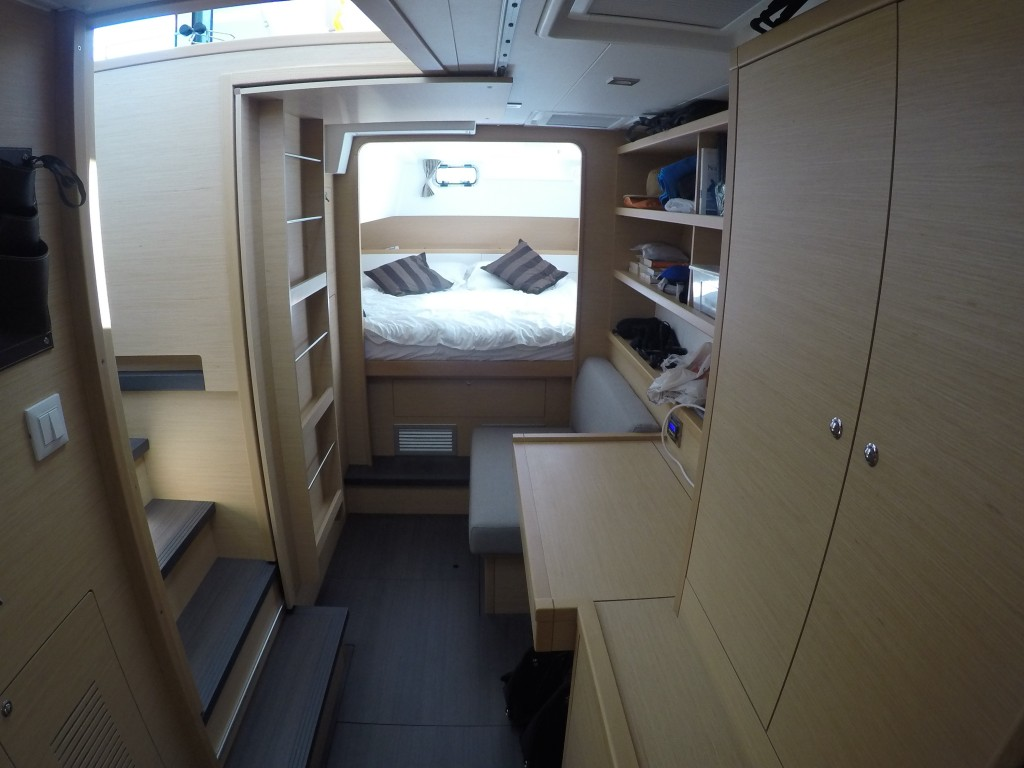 Port aft accomodation