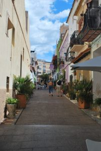 Streets in old Calpe