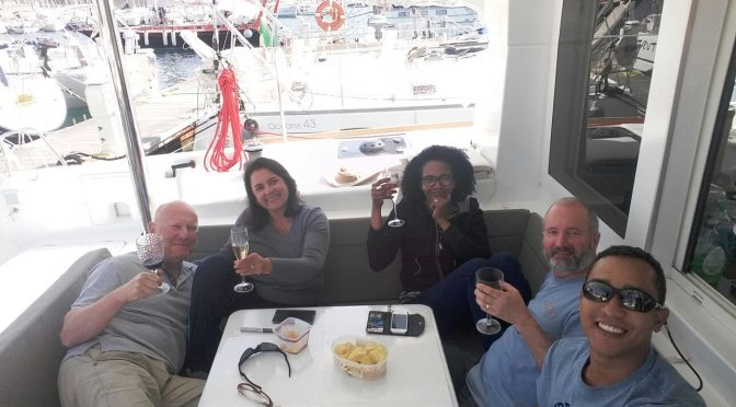 Alghero with the Abbotts, and 'Spider'
