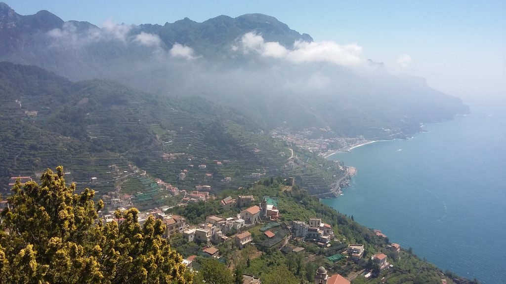 Coast east of Ravello