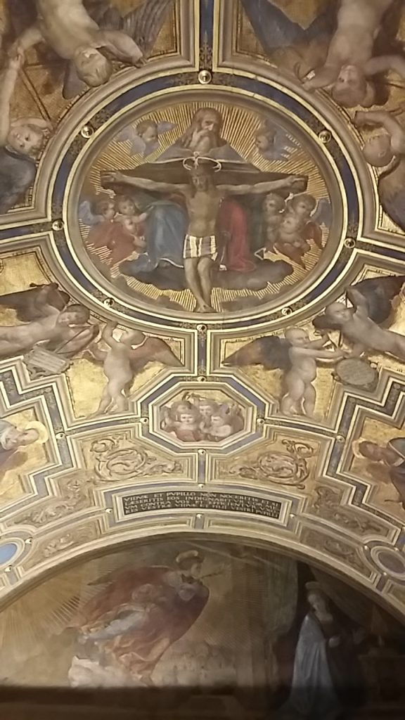 Ceiling of the Chapel of the Priors, Palazzo Vecchio