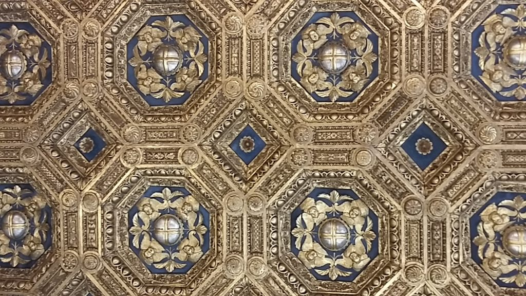 Ceiling of the Audience Room