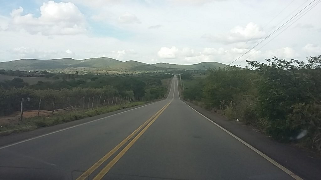 The AL-115 on the way to Palmiros dos Indios